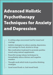 Image ofAdvanced Holistic Psychotherapy Techniques for Anxiety and Depression