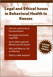Image of Legal & Ethical Issues in Behavioral Health in Kansas