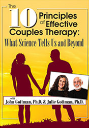 The 10 Principles of Effective Couples Therapy: What Science Tells Us