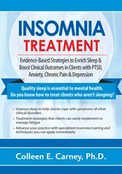 Image of Insomnia: Evidence-Based Strategies for Depression, Trauma, Anxiety an