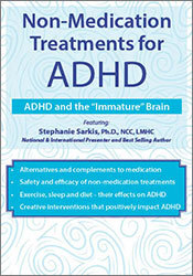 "Image of Non-Medication Treatments for ADHD: ADHD and the ""Immature"" Brain"