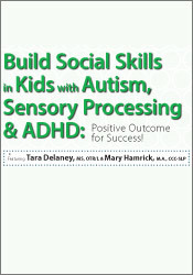 Image of Build Social Skills in Kids with Autism, Sensory Processing & ADHD: Po