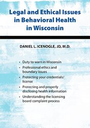 Image of Legal and Ethical Issues in Behavioral Health in Wisconsin