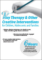 Image of Play Therapy & Other Creative Interventions