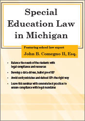 Image of Special Education Law in Michigan