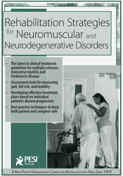 Image of Rehabilitation Strategies for Neuromuscular & Neurodegenerative Disord