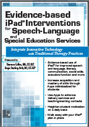 Image ofEvidence-based iPad® Interventions for Speech-Language & Special Educa