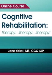 Image of Cognitive Rehabilitation: Therapy ... Therapy ... Therapy!!!