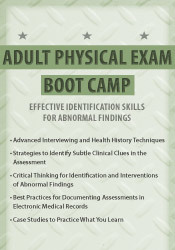 Image of Adult Physical Exam Boot Camp: Effective Identification Skills for Abn