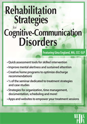 Image of Rehabilitation Strategies for Cognitive-Communication Disorders