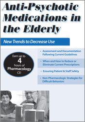 Image ofAnti-Psychotic Medications in the Elderly: New Trends to Decrease Use