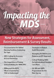 Image ofImpacting the MDS: New Strategies for Assessment, Reimbursement & Surv