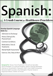 Image ofSpanish: A Crash Course for Healthcare Providers