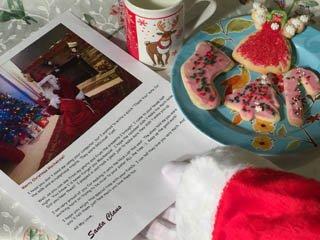 Cámara de galletas de Santa