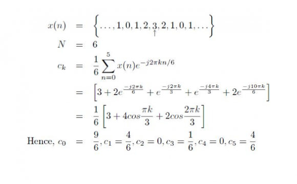 Simplifications With Eulers Equation Dtft Dtfs