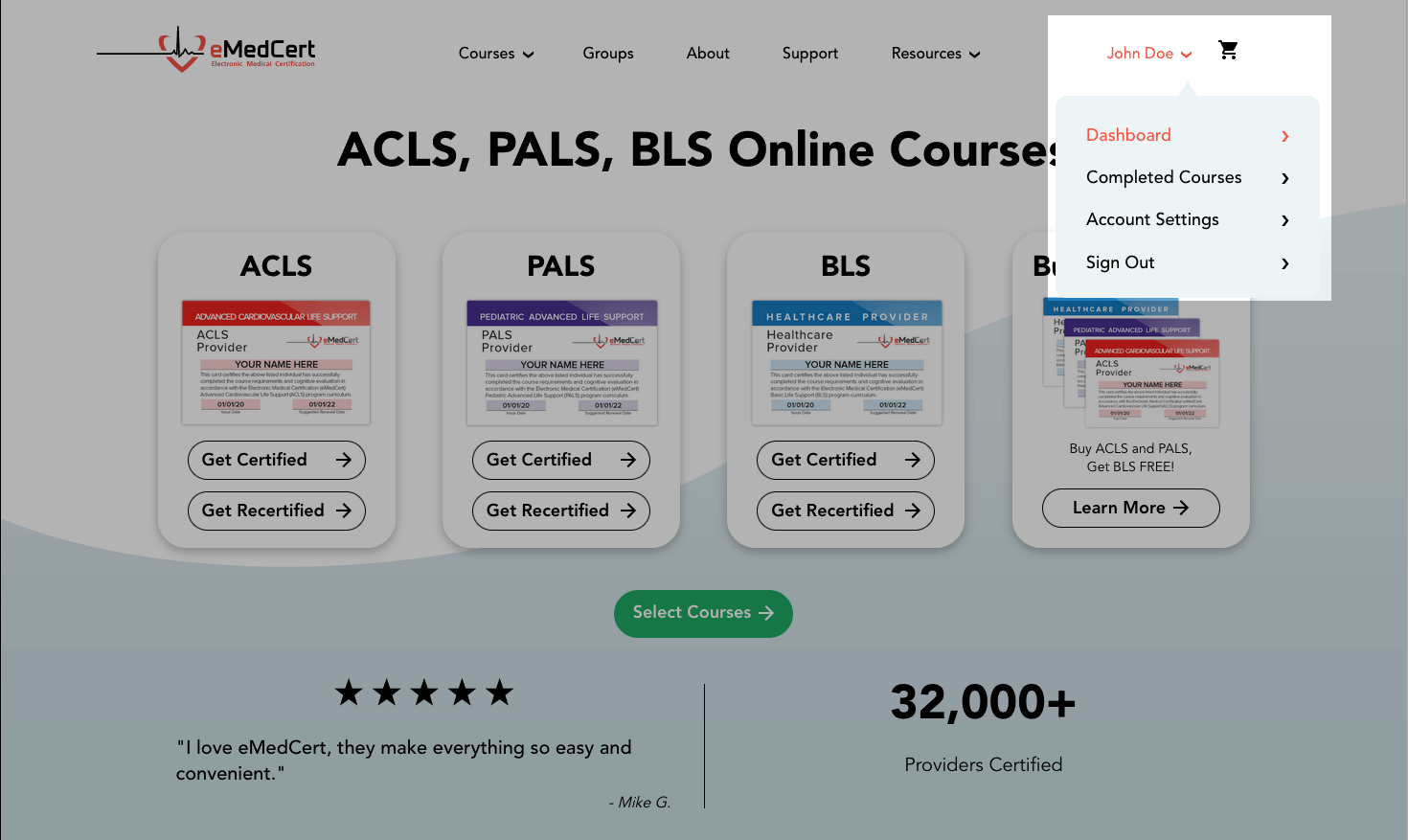 knowledge base | acls card download step 1b