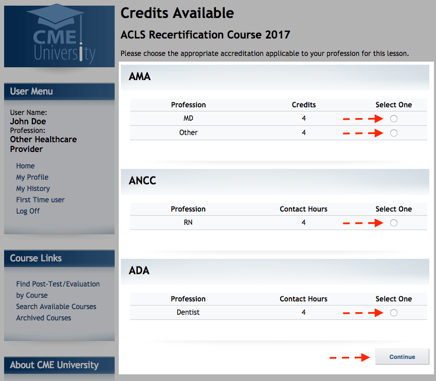 knowledge base | current cme download step 9