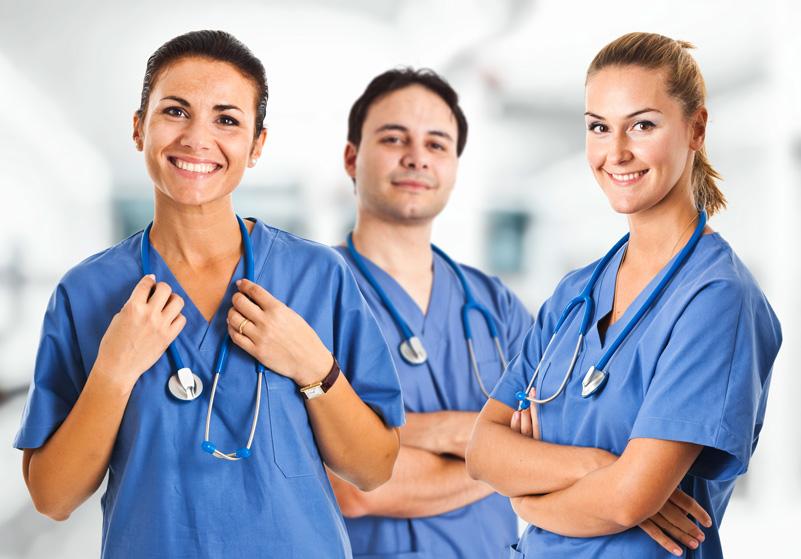 Three Nurses in Scrubs, Nursing Quotes | eMedCert