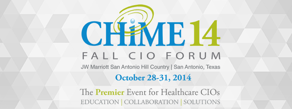 #CHIME14, CHIME 2014 Fall CIO Forum | eMedCert