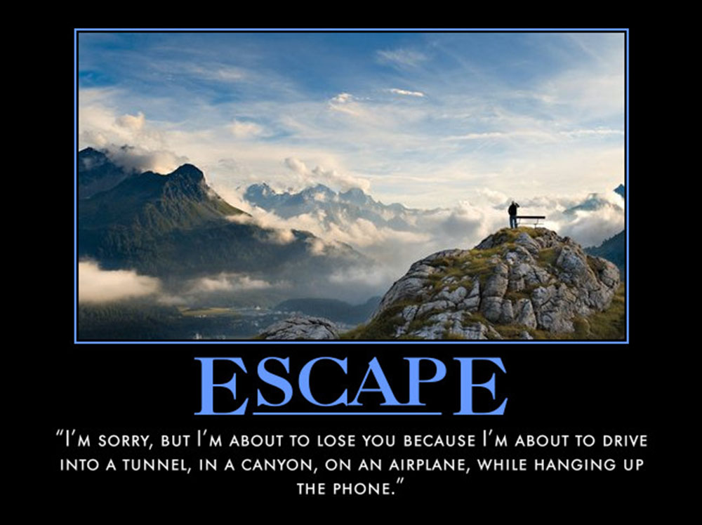 House Quote Motivational Poster Escape | eMedCert