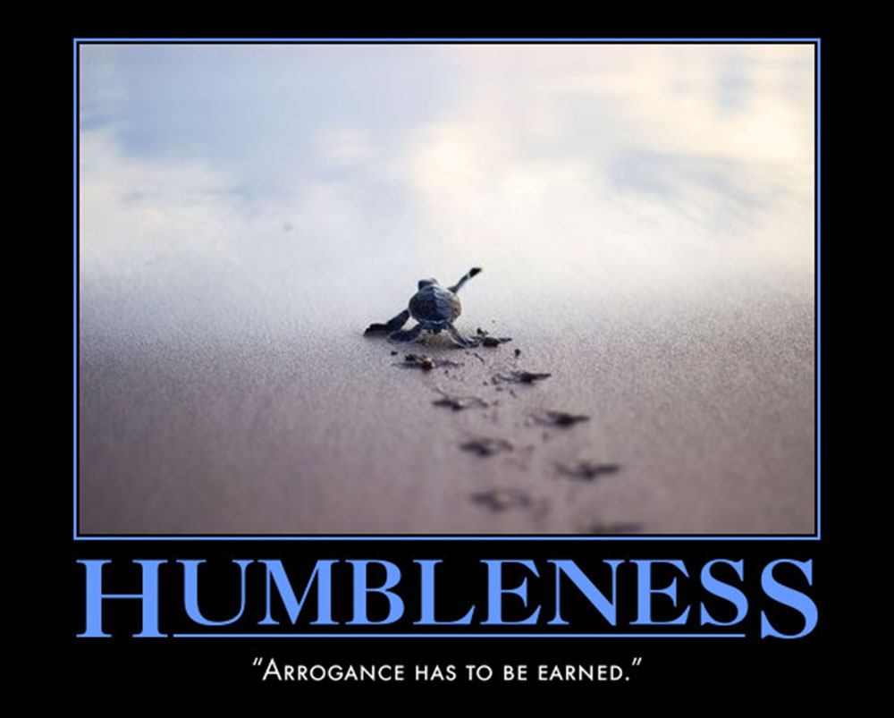 House Quote Motivational Poster Humbleness | eMedCert
