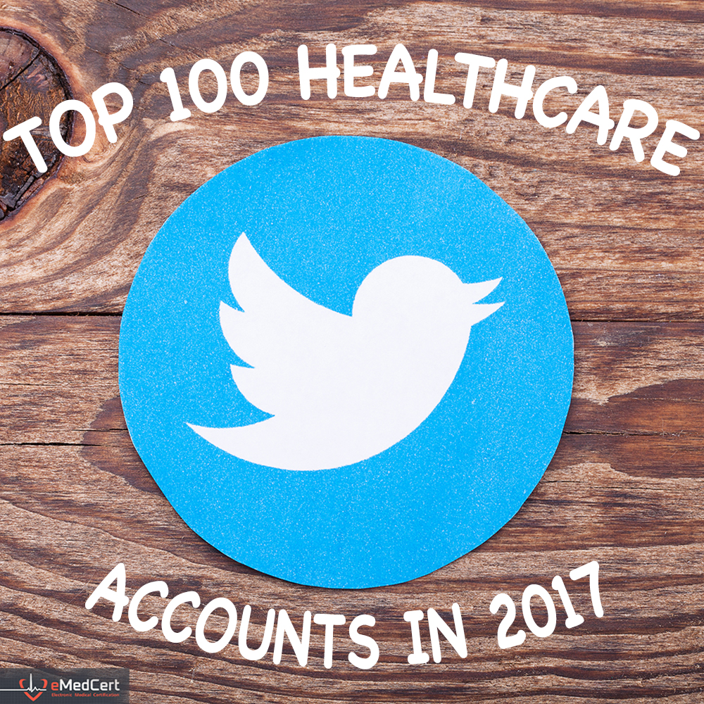 Top 100 Healthcare Twitter Accounts | eMedCert