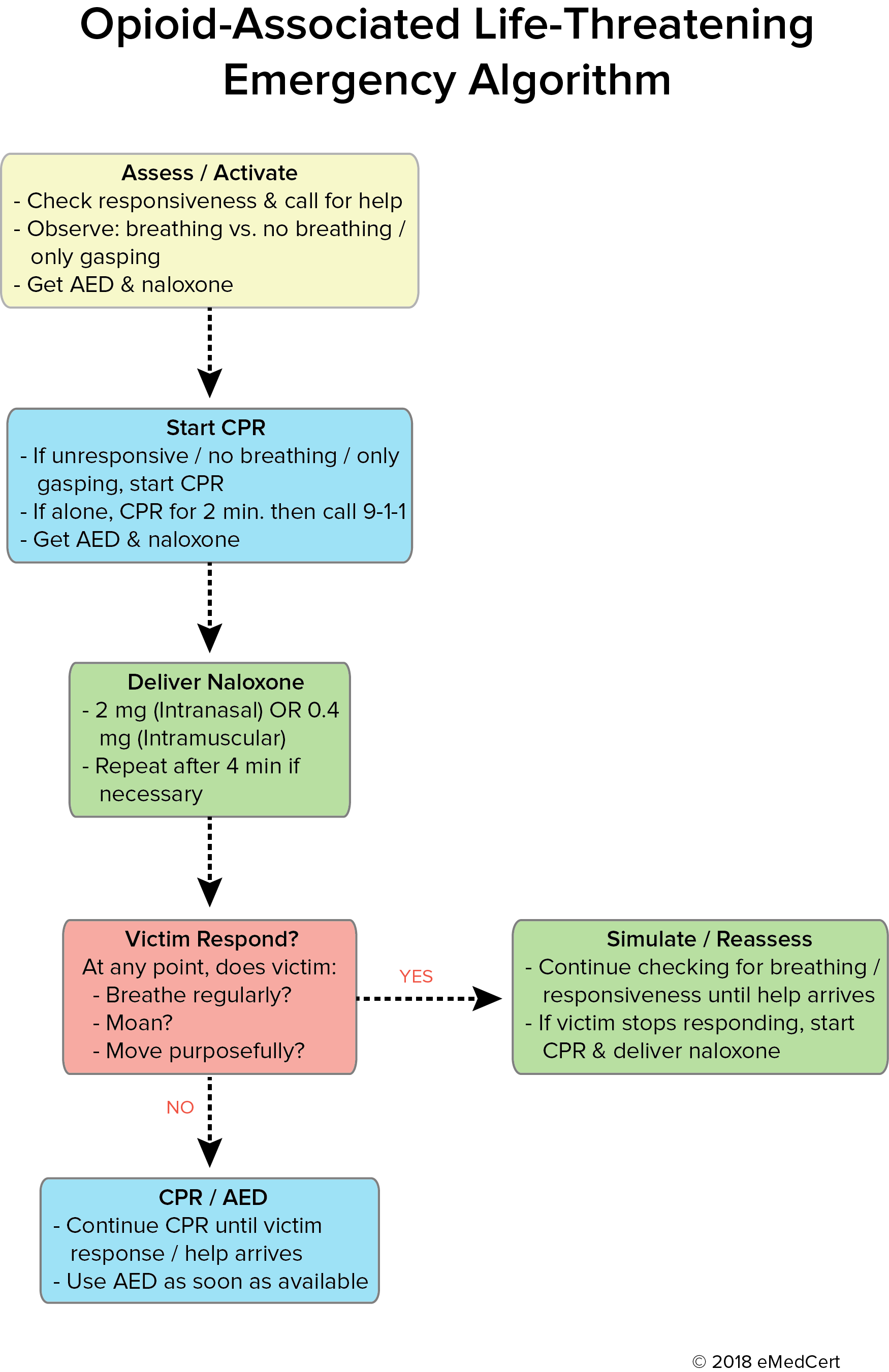 Opioid-Associated Algorithm | eMedCert