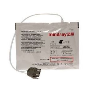 Paquete de 5 pares de electrodos adultos Cat MIN-0651-30-77007 Mindray