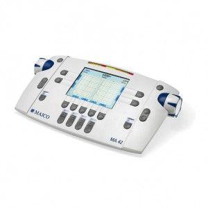 Audiometro para diagnostico portatil de 2 canales Cat MAI-42 Maico
