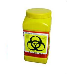 Recolector de polipropileno para liquidos color amarillo, capacidad volumen: 3.0 Lts. Cat A1C-PL-3A A1 Contenedores