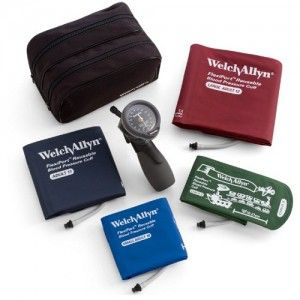 Baumanómetro aneroide de mano con gatillo DuraShock serie Oro DS66 Cat WEA-5098-30 Welch Allyn