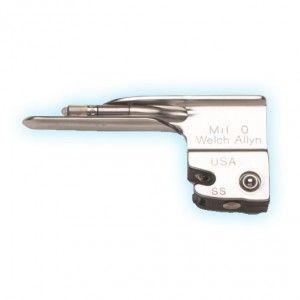 Hoja para laringoscopio recto Miller # 0 Cat WEA-68040 Welch Allyn