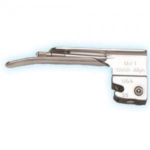 Hoja para laringoscopio recto Miller # 1 Cat WEA-68041 Welch Allyn