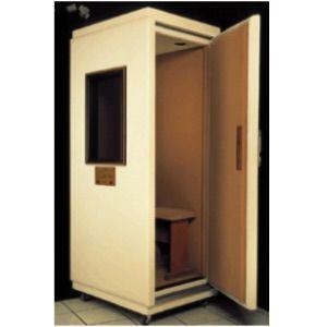 Cabina clinica sonoamortiguada 100 x 90 x 210 cms tipo mini con ruedas Cat MAI-250 Maico