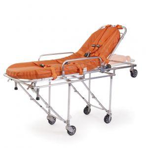 Camilla de transporte Mod. 25 con colchón 360 y correas sujetadoras, Color Naranja Cat FER-0000444 Ferno-Washington