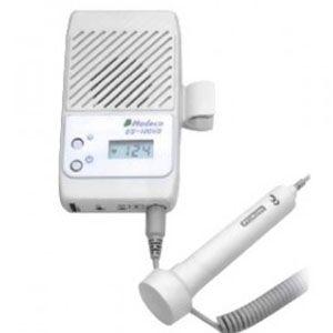 Detector fetal Modelo ES-100V2 con frecuencia cardiaca y transductor 2 Mhz. Cat HAD-ES100VII-F Hadeco