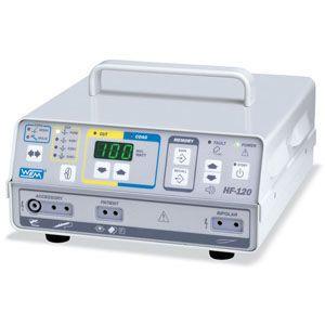 Equipo de Electrocirugía sin evacuador de Humo de 100 Watts Cat WEM-HF120 WEM