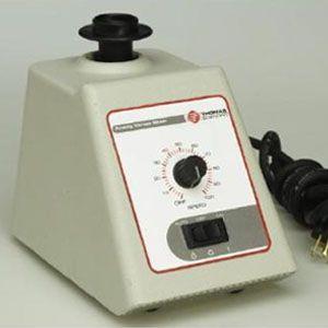Agitador vortex mixer análogo velocidad variable 300 a 3200 RPM, 120 V Cat TSF-8294B30 Thomas Scientific