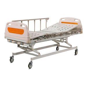 Cama hospitalaria manual de 2 funciones, 3 posiciones y con ruedas. Cat AOL-ALK06-A328P Aolike