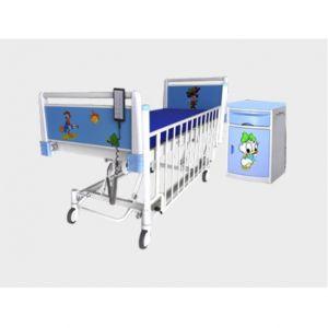 Cama pediatrica eléctrica de 5 posiciones Cat. BAM-CE-5P  Bame