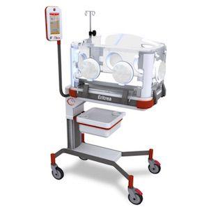 Incubadora para infante con monitor touch de 7