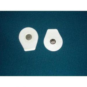 Electrodo desechable pediatrico 36x40mm oval Cat FIB-F9079P/1 Fiab