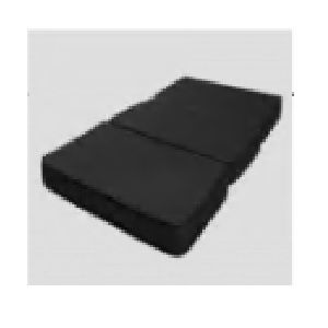Colchon para cama de hospital de 2 manivelas seccionado en 3 partes 190x90x15 cms Cat. HEL-HC05  Herlis