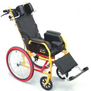 Silla de ruedas para parálisis cerebral Infantil con llantas neumáticas PCI Cat ESR-PCI-04AN Easy Roll