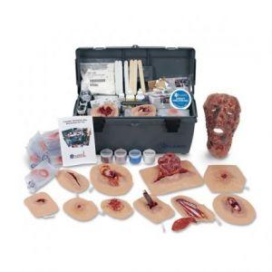 Kit de simulación para heridas por trauma Cat NAS-PP00025 Nasco - Simulaids
