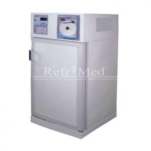 Refrigerador vertical para laboratorio de 5.4' cubicos acero inoxidable y esmaltado 2xterior Cat. REF-RVCSCV-5  Refrimed