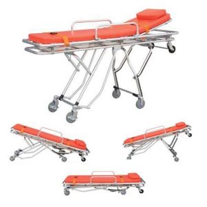 Camilla multifuncional de aluminio con 3 posiciones para ambulancia Cat MLF-TD010131-A My Life