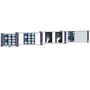 Negatoscopio cuadruple LED Ultradelgado, 6,500 LUX Cat FSV-XR-4 Film Slim Viewer
