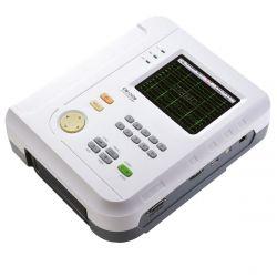 Electrocardiógrafo de 12 canales con estudio de cardio y arritmias en español Cat COM-CM-1200B Comen