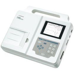 Electrocardiógrafo de 3 canales con estudio de cardio y arritmias en español Cat COM-CM-300 Comen